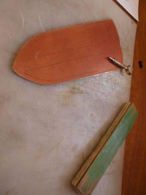 Ножны со съемным подвесом 25
