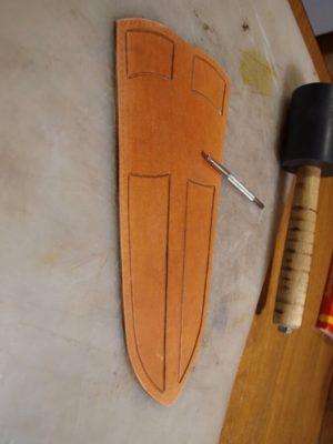 Ножны со съемным подвесом 26