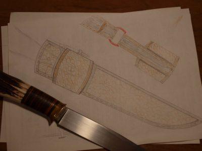 Ножны со съемным подвесом 3
