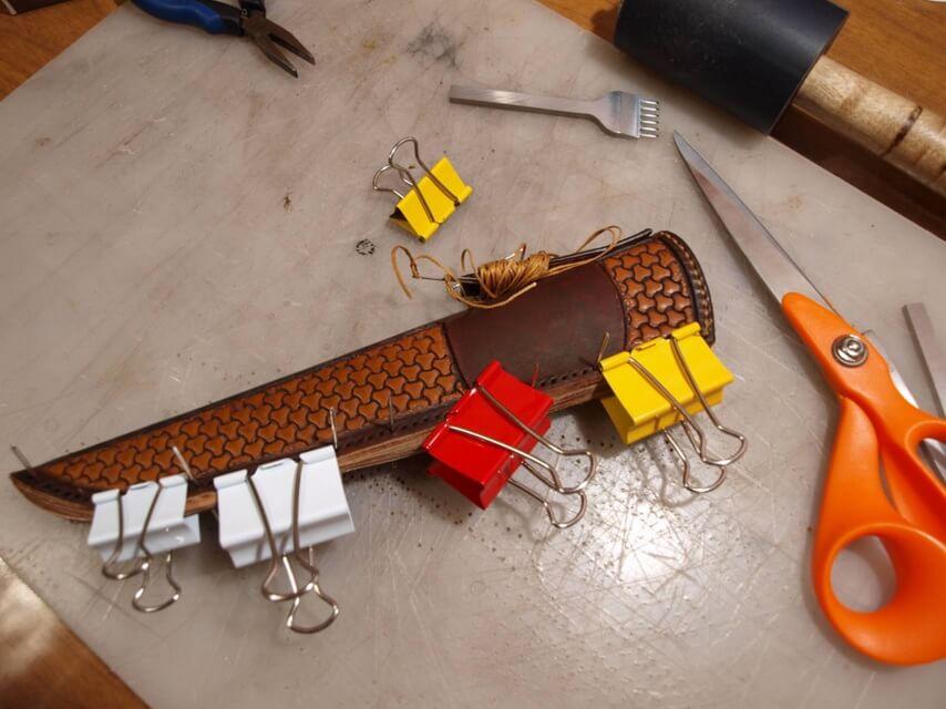 Ножны со съемным подвесом 36