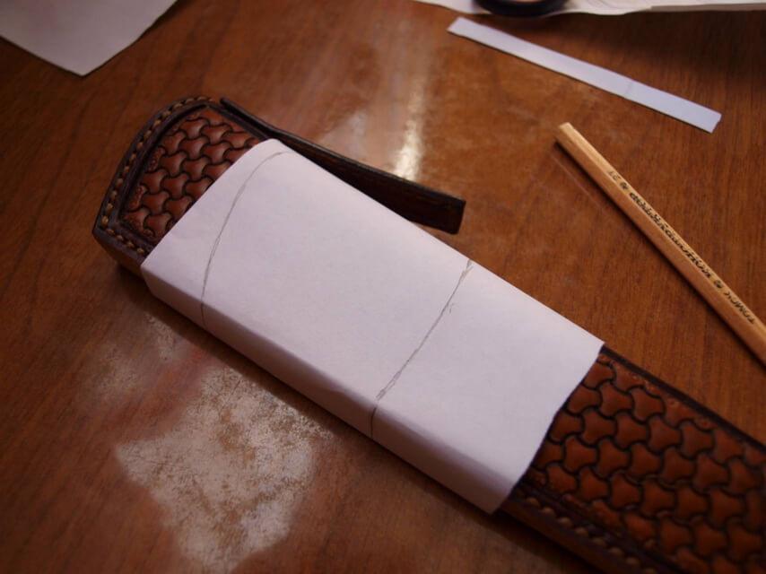 Ножны со съемным подвесом 37