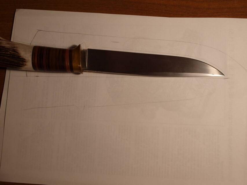Ножны со съемным подвесом 4
