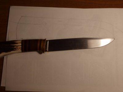 Ножны со съемным подвесом 5