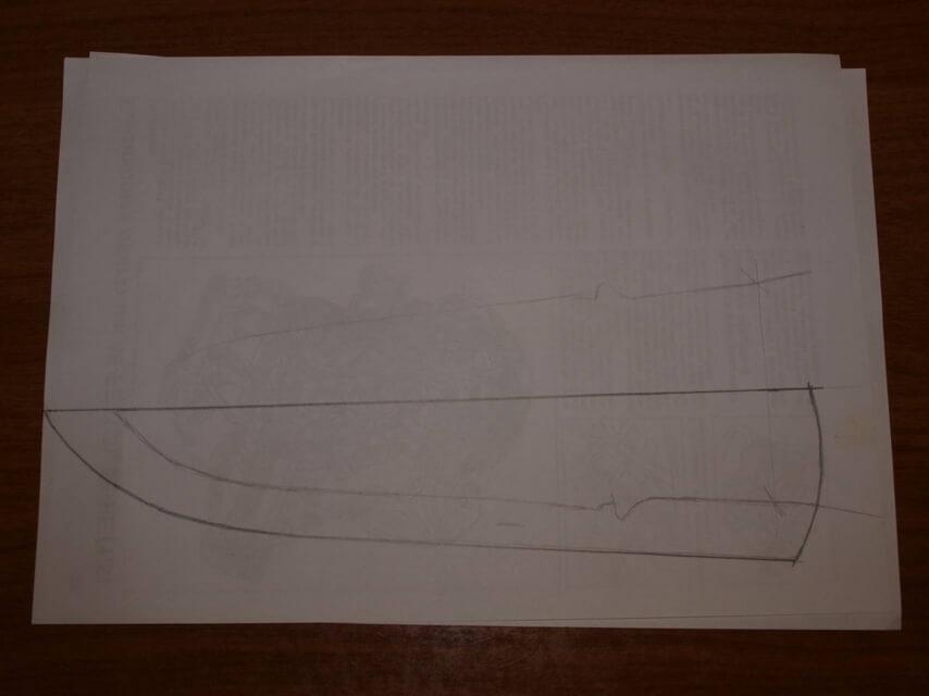 Ножны со съемным подвесом 6