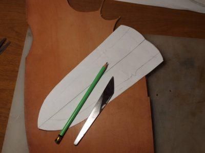 Ножны со съемным подвесом 8