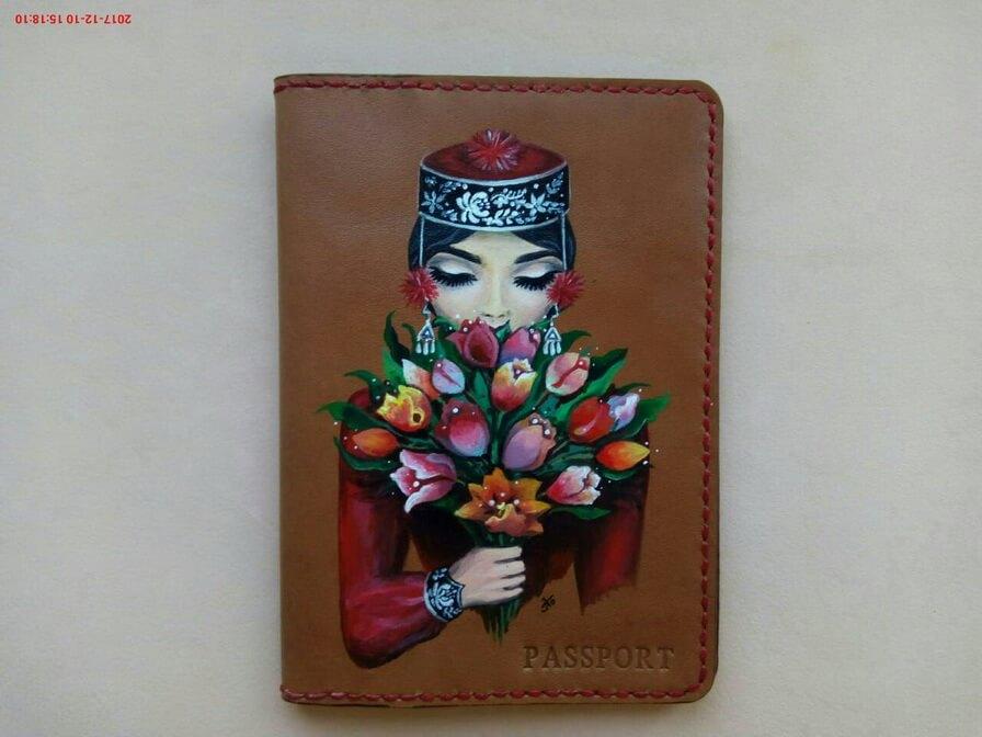 Обложка для паспорта 16