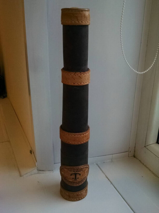 Подзорная труба из кожи 29