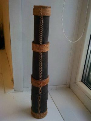 Подзорная труба из кожи 30