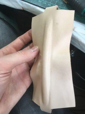 Портфель из кожи растительного дубления 10