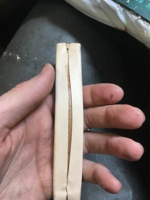 Портфель из кожи растительного дубления 13