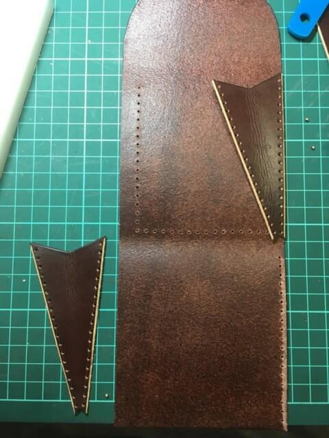 Портфель из кожи растительного дубления 19