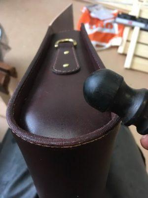 Портфель из кожи растительного дубления 42