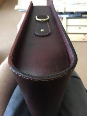 Портфель из кожи растительного дубления 43