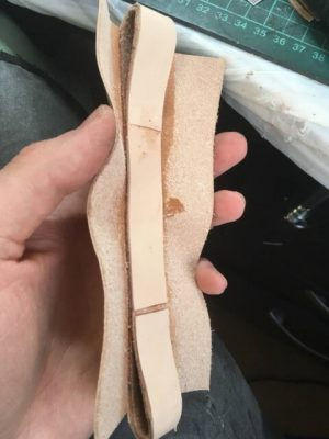 Портфель из кожи растительного дубления 9